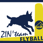 Flyball logo équipe ECR - Zin'Team